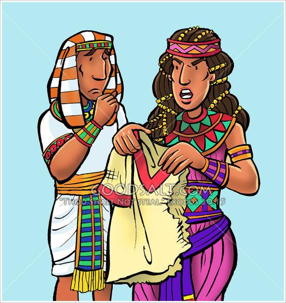 Clipart potiphars wife banner freeuse Potiphar\'s Wife banner freeuse