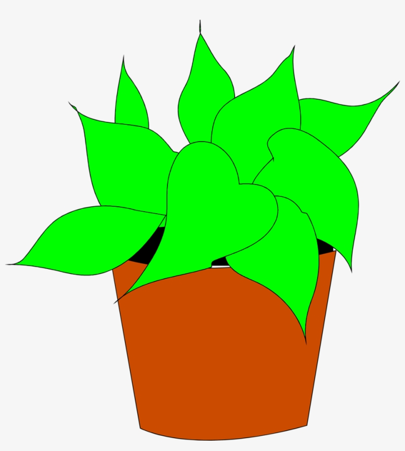Clipart potted plant clip art freeuse Potted Plant Clip Art Wallpapers Gallery - Clip Art Transparent PNG ... clip art freeuse