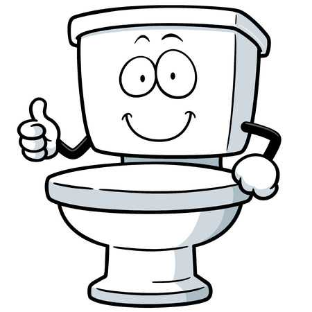 Clipart potty image black and white Potty clipart 3 » Clipart Station image black and white