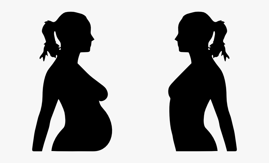 Teenage mothers clipart