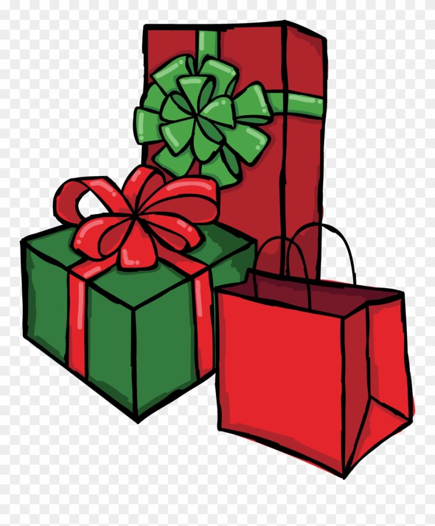 Clipart present clip art freeuse download Clipart Present Hanukkah Presents - Cooperative - Png Download ... clip art freeuse download