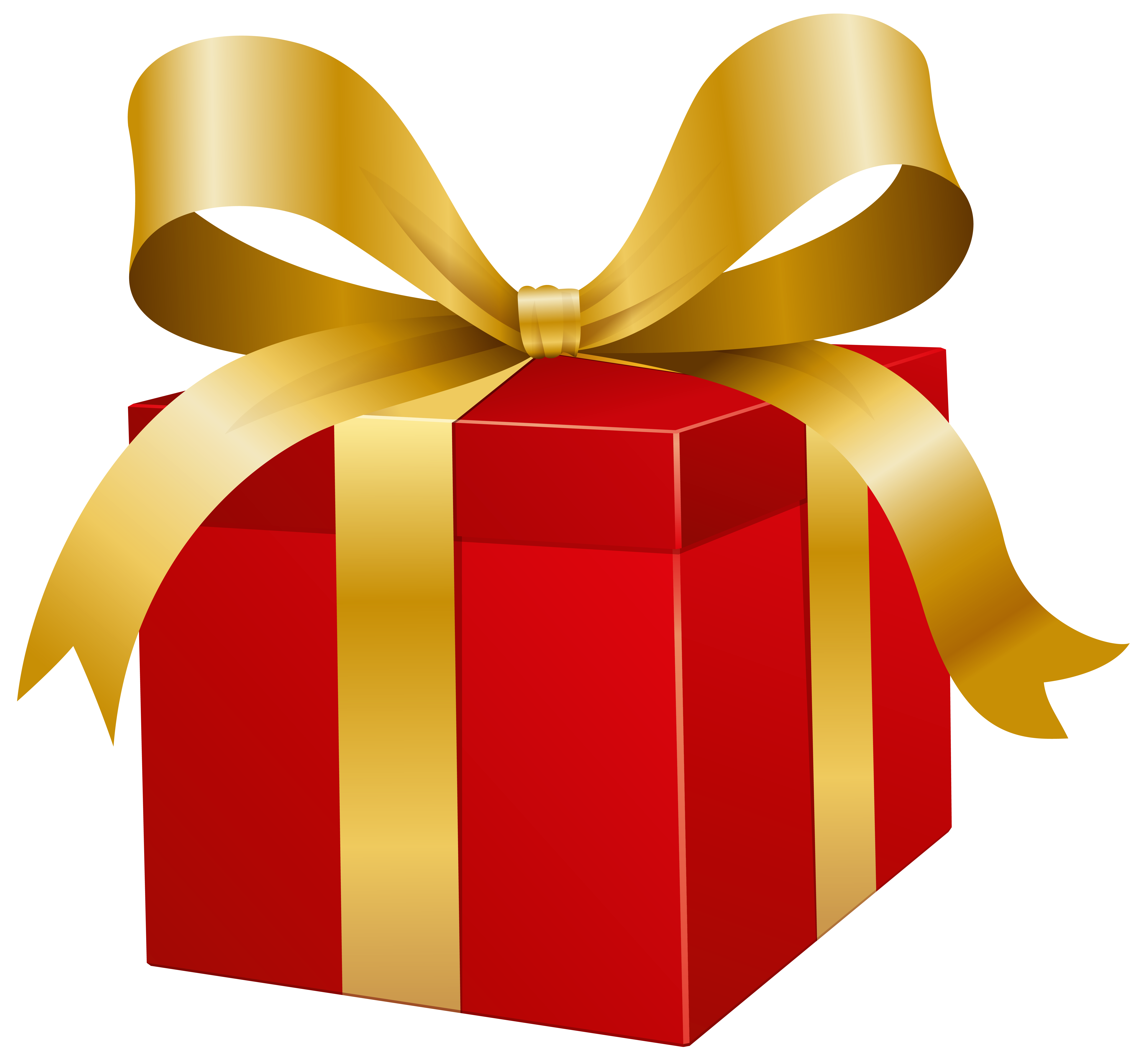 Clipart present svg library Red Present Box PNG Clip Art - Best WEB Clipart svg library
