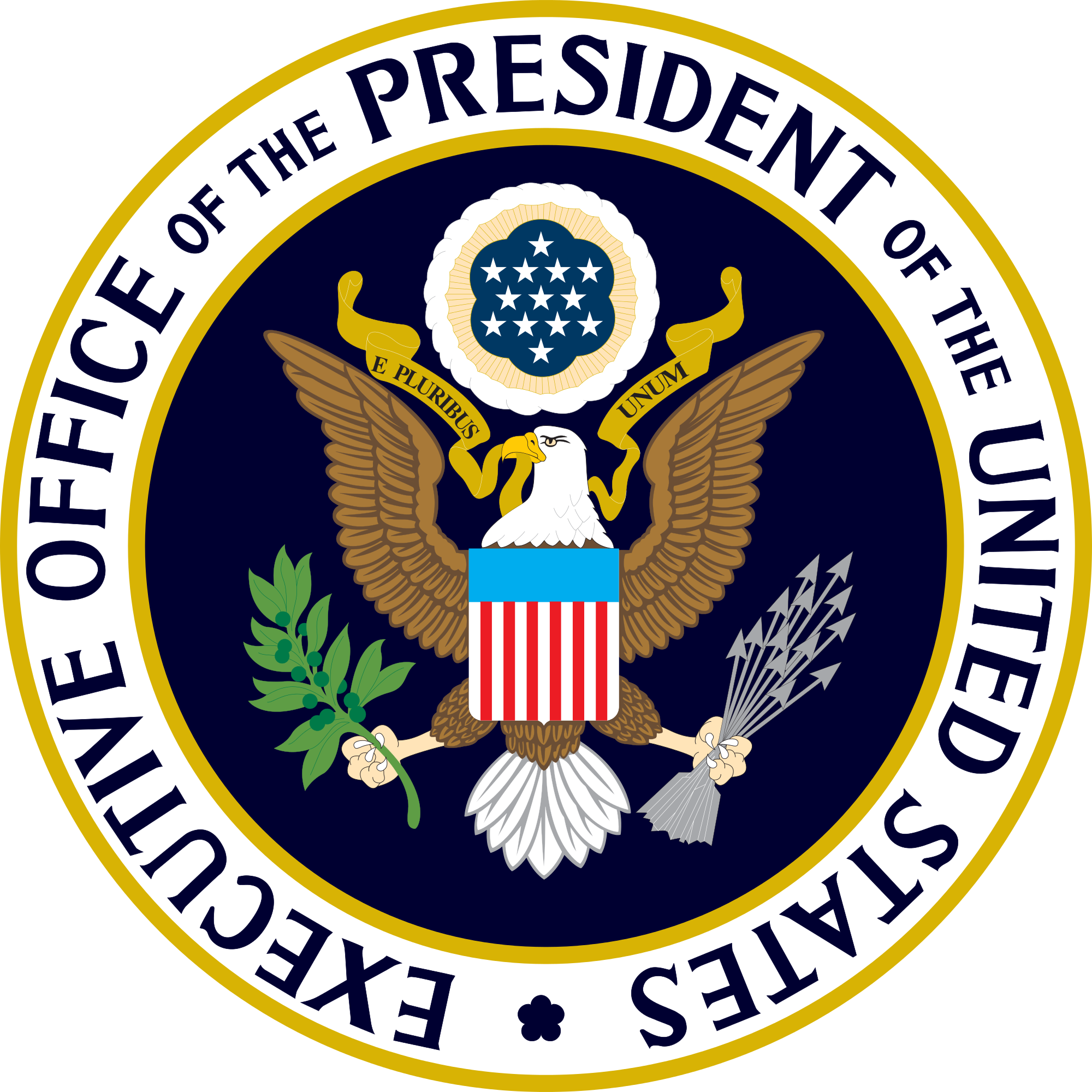 Clipart presidents united states graphic free download File:Seal of the Executive Office of the President of the United ... graphic free download