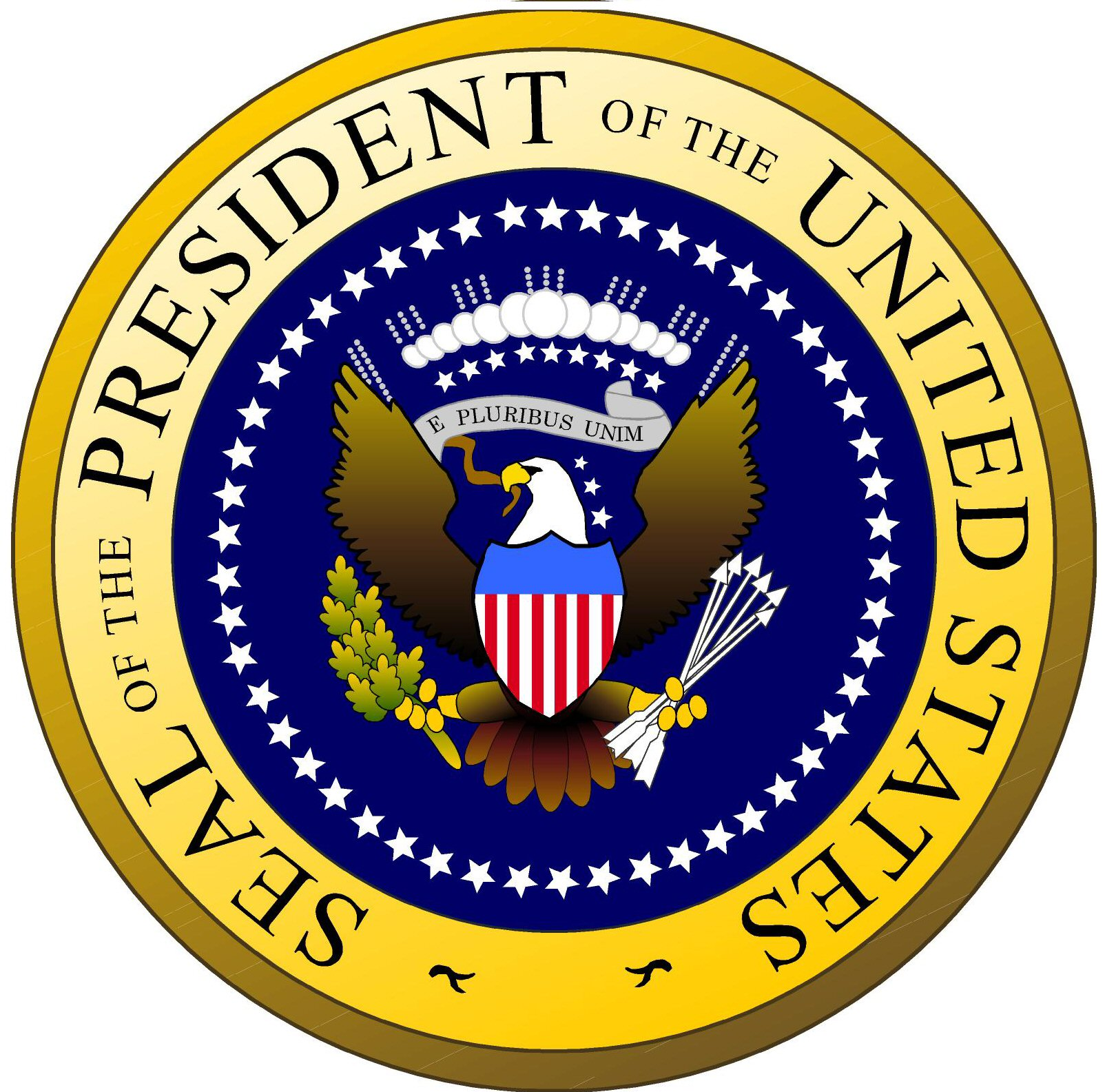 Clipart presidents united states svg download President of the United States Seal - Cliparts and Others Art ... svg download