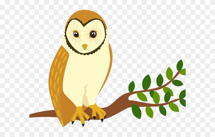 Clipart prey vector freeuse download Bird Of Prey Clipart Barn Owl - Perch Clipart - Png Download ... vector freeuse download