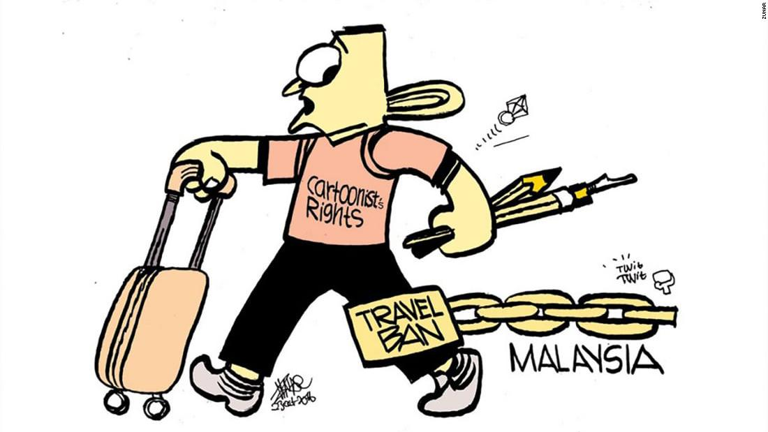 Clipart prime minister corruption jpg black and white Zunar and Fahmi Reza: the cartoonists who helped take down Najib ... jpg black and white