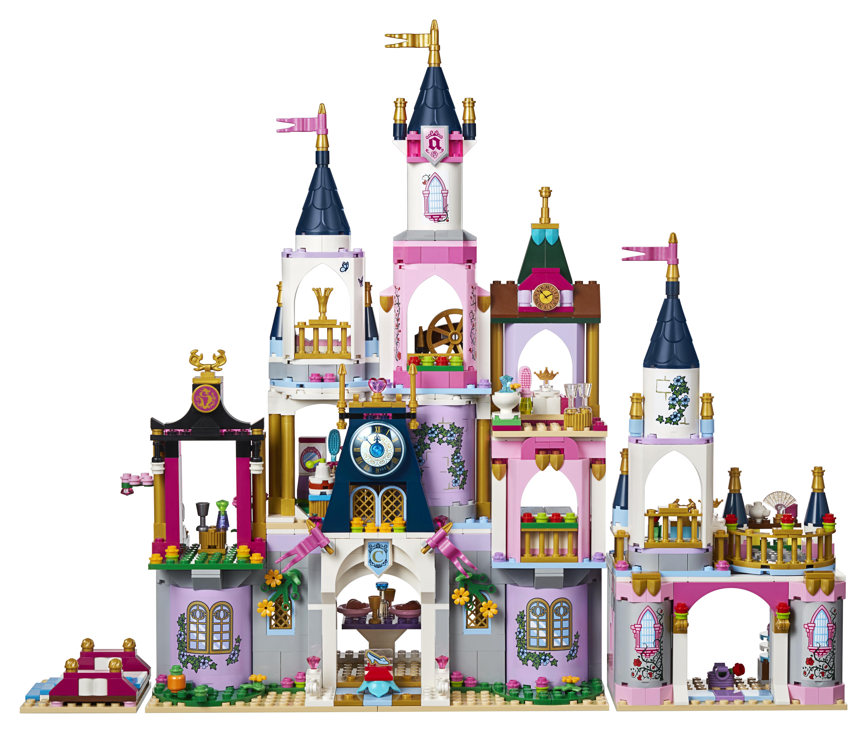 Clipart princess and castle scenes on pillowcase black and white LEGO Disney Princess Cinderella\'s Dream Castle 41154 - Walmart.com black and white