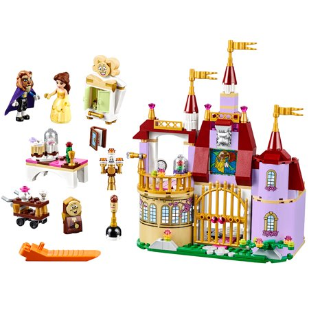 Clipart princess and castle scenes on pillowcase jpg transparent stock LEGO Disney Princess Belle\'s Enchanted Castle 41067 jpg transparent stock