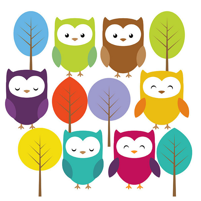 Clipart printable vector royalty free download Girl Owl Clipart - Clipart Kid vector royalty free download