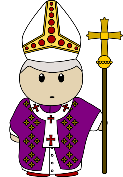 Clipart protestant svg library download Free Cartoon Pope Clip Art - 616*429 - Free Clipart Download ... svg library download