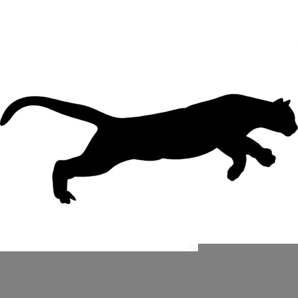 Clipart puma banner transparent stock Puma Clipart Free | Free Images at Clker.com - vector clip art ... banner transparent stock