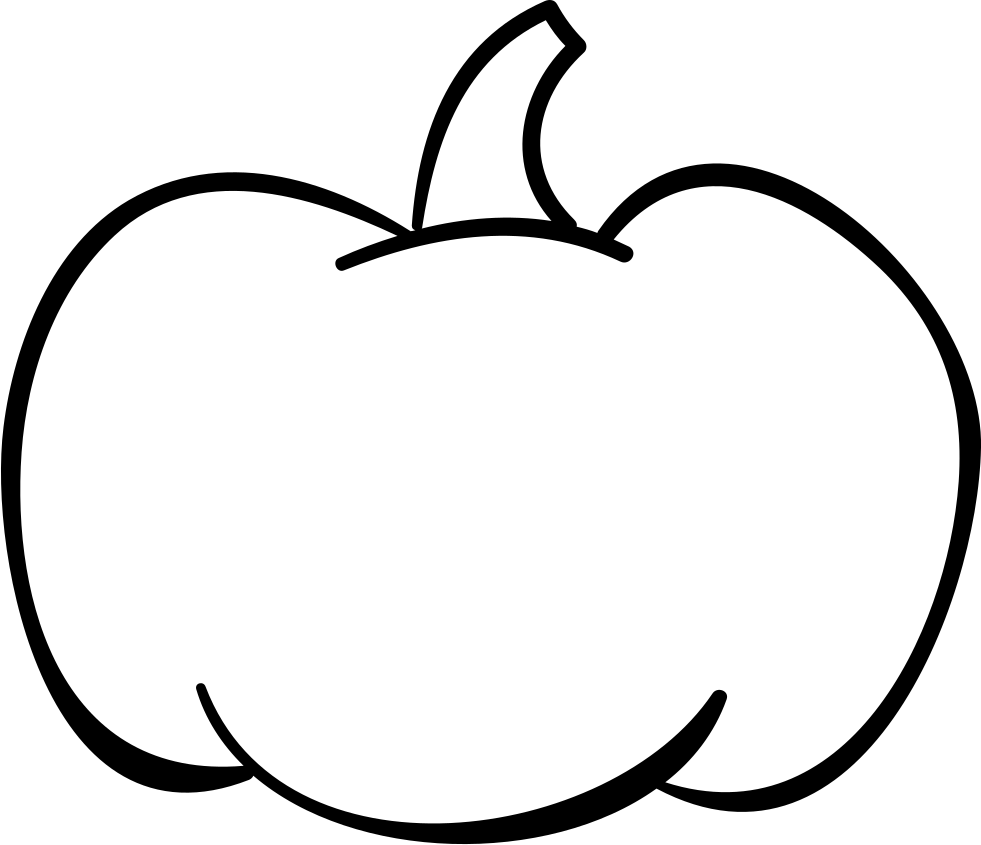 Halloween Pumpkin Vegetable Outline Svg Png Icon Free Download ... picture library