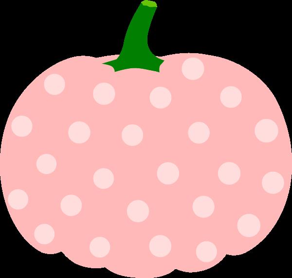 Polka dot pumpkin clipart picture free Pumpkin Clip Art at Clker.com - vector clip art online, royalty free ... picture free