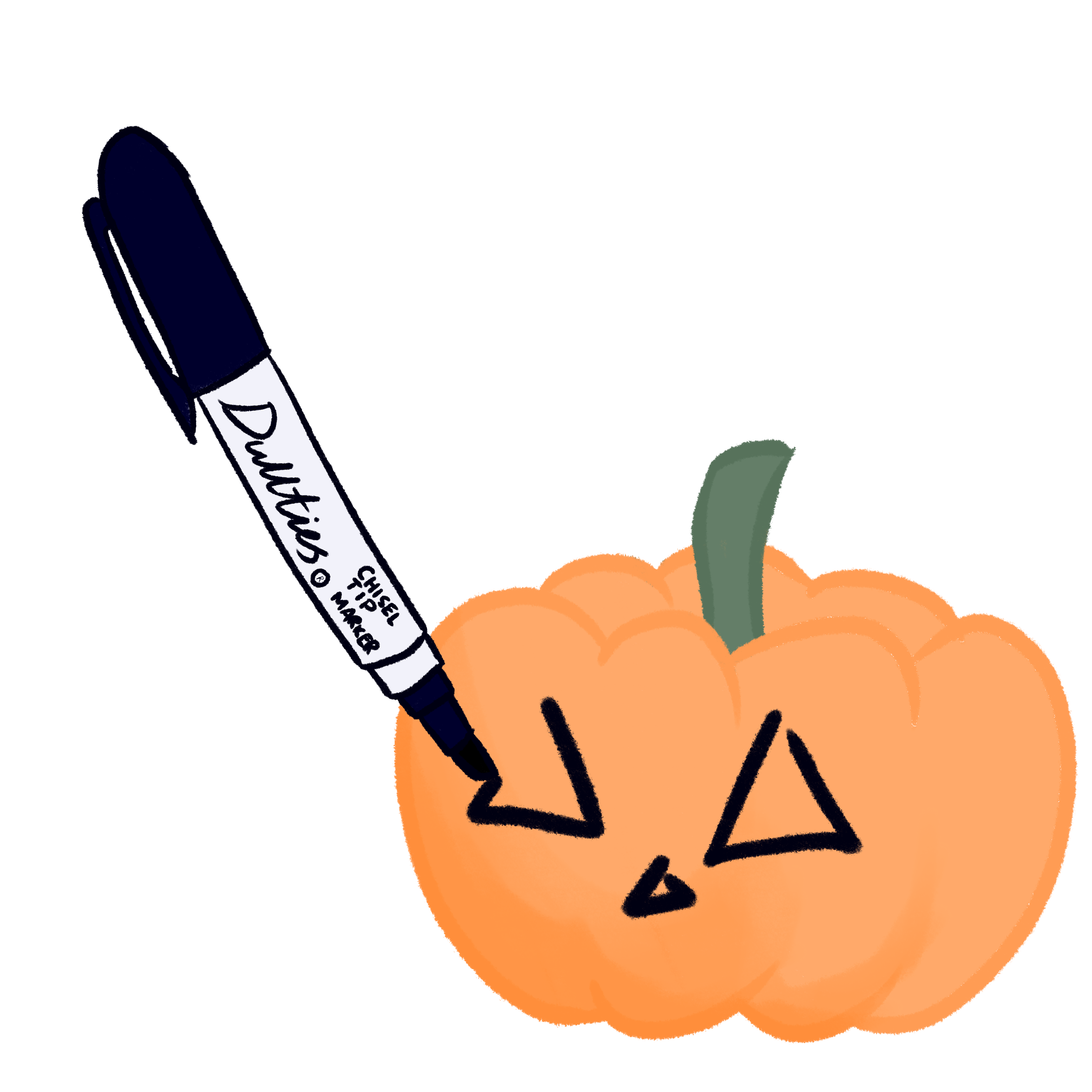 Clipart pumpkin tipping over vector library Pumpkin Carving Art - Album on Imgur vector library
