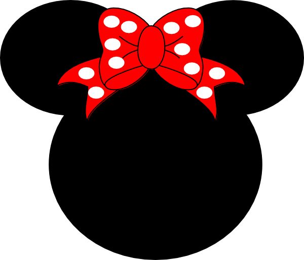 Mickey mouse head with crown clipart royalty free library minnie printables | Minnie Mouse clip art - vector clip art online ... royalty free library