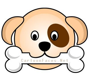 Clipart puppy face banner black and white library Puppy Dog Face Clip Art | Clipart Panda - Free Clipart Images | Clip ... banner black and white library