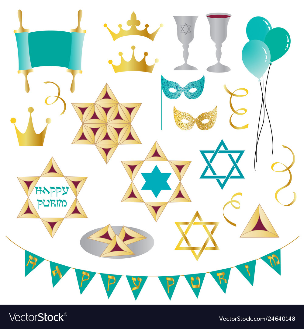Clipart purim banner black and white stock Purim clipart banner black and white stock