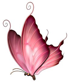 Clipart purple butterfly with hearts on wings vector download Pink And Purple Butterfly Clipart | Clipart Panda - Free Clipart ... vector download