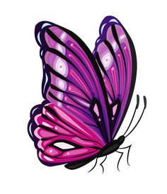 Clipart purple butterfly with hearts on wings royalty free stock Pink And Purple Butterfly Clipart | Clipart Panda - Free Clipart ... royalty free stock