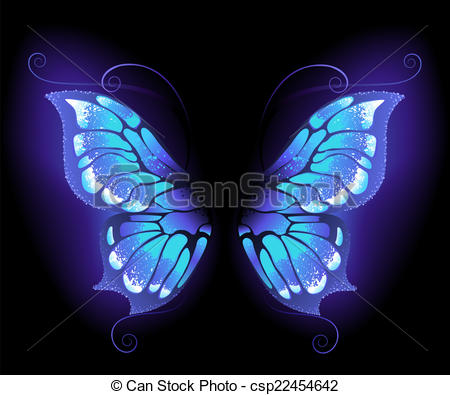Clipart purple butterfly with hearts on wings image royalty free download Butterfly wings Stock Illustrations. 48,512 Butterfly wings clip ... image royalty free download