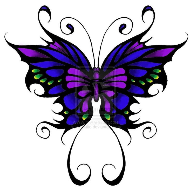 Clipart purple butterfly with hearts on wings vector royalty free 17 Best ideas about Purple Butterfly Tattoo on Pinterest | 3d ... vector royalty free
