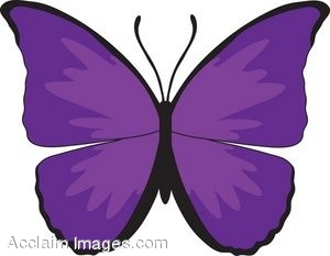 Clipart purple butterfly with hearts on wings clip art transparent Clipart purple butterfly with hearts on wings - ClipartFest clip art transparent