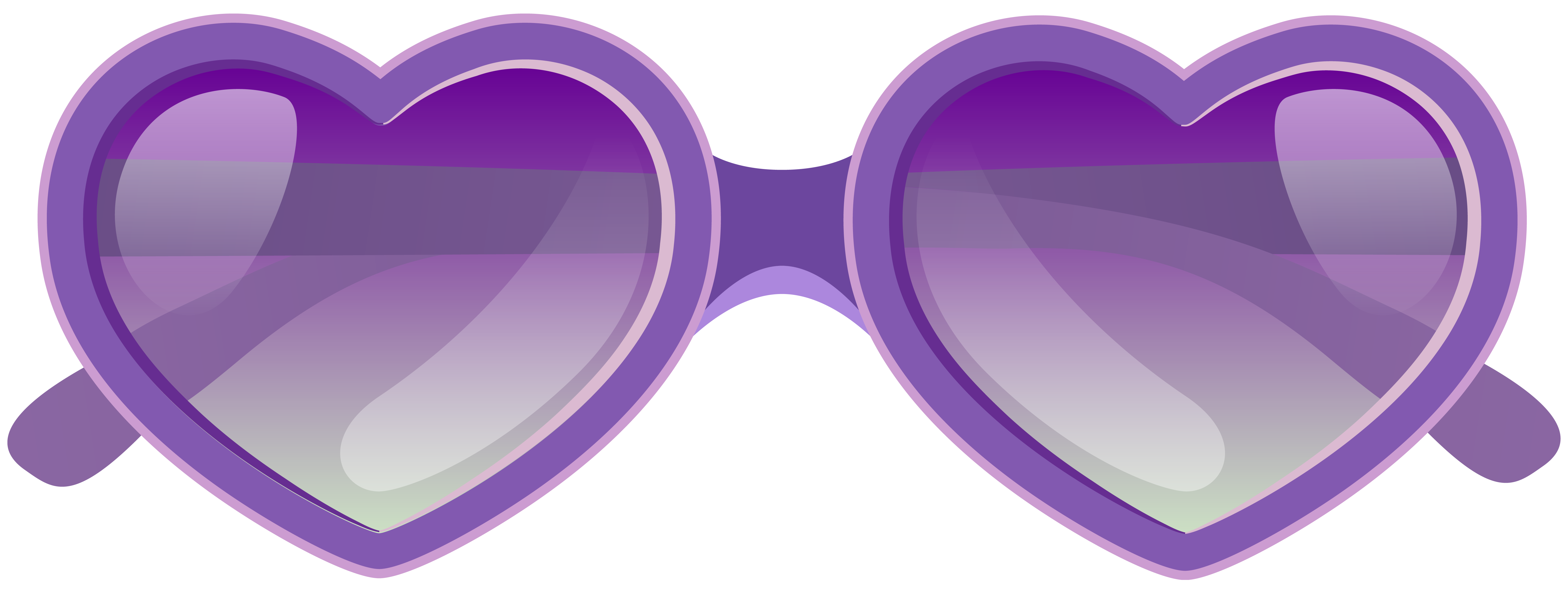 Nerd glasses clipart with apple clip art freeuse download Purple Heart Sunglasses PNG Clipart Image | Gallery Yopriceville ... clip art freeuse download