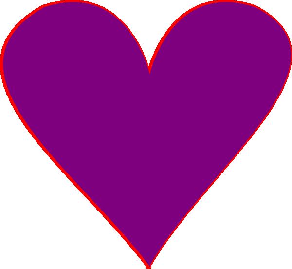 Dark purple heart clipart jpg royalty free Purple Heart Clip Art at Clker.com - vector clip art online, royalty ... jpg royalty free