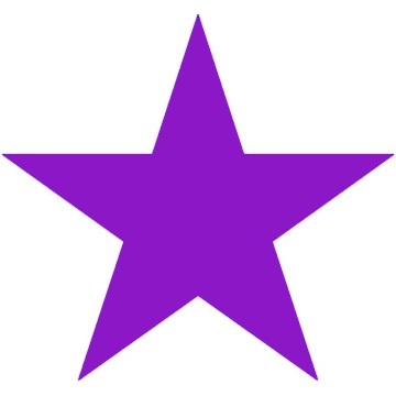 Purple stars clipart clipart black and white Free Purple Star Cliparts, Download Free Clip Art, Free Clip Art on ... clipart black and white