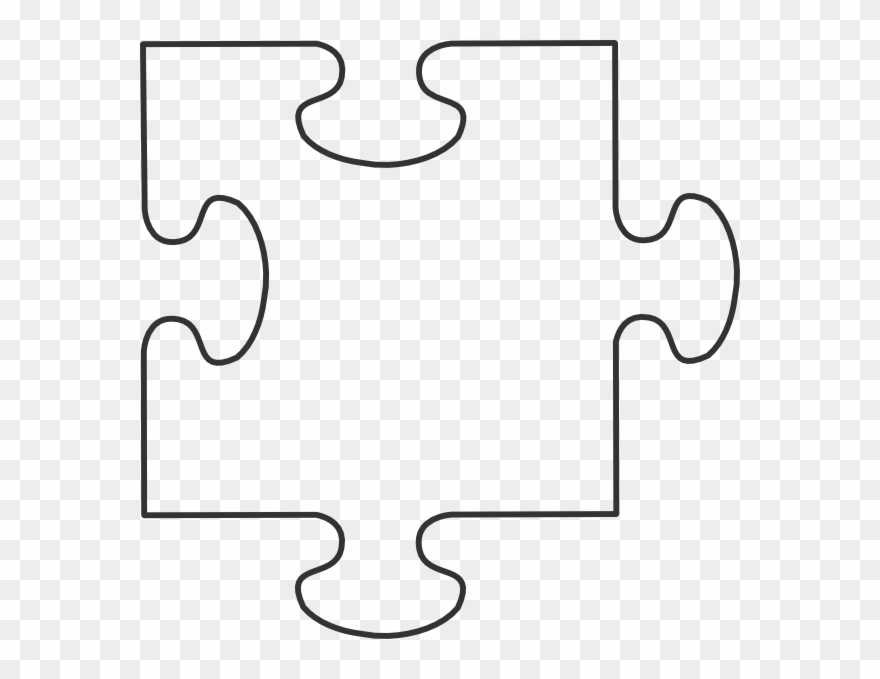 Clipart puzzle pieces template clipart Blank Puzzle Piece Template Clipart (#192685) - PinClipart clipart