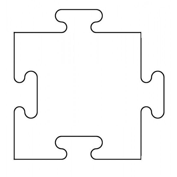 Clipart puzzle pieces template banner black and white stock Free Puzzle Pieces Template, Download Free Clip Art, Free Clip Art ... banner black and white stock