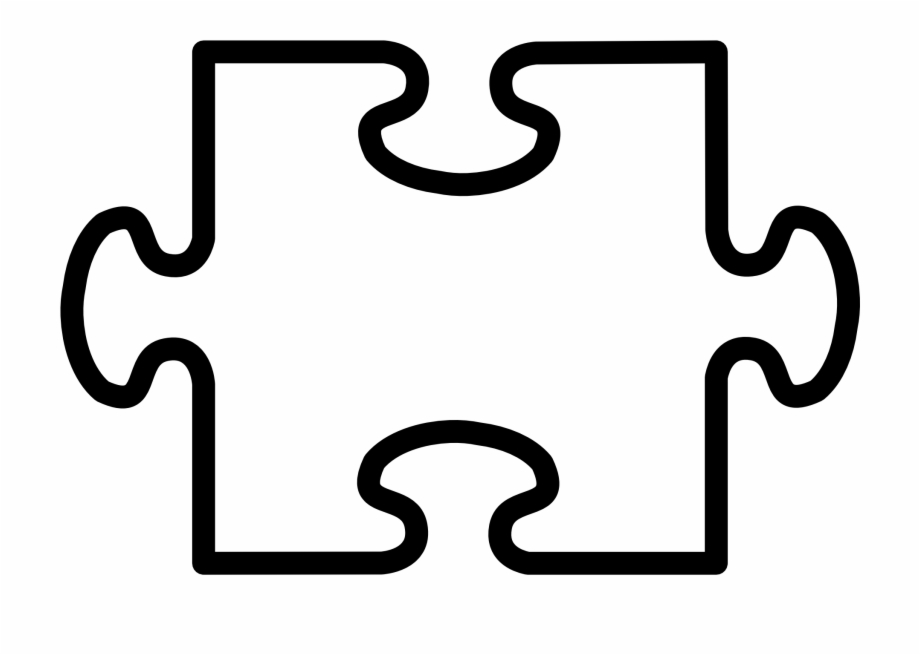 Clipart puzzle pieces template image library library 2 Puzzle Pieces Template, Transparent Png Download For Free #4512103 ... image library library