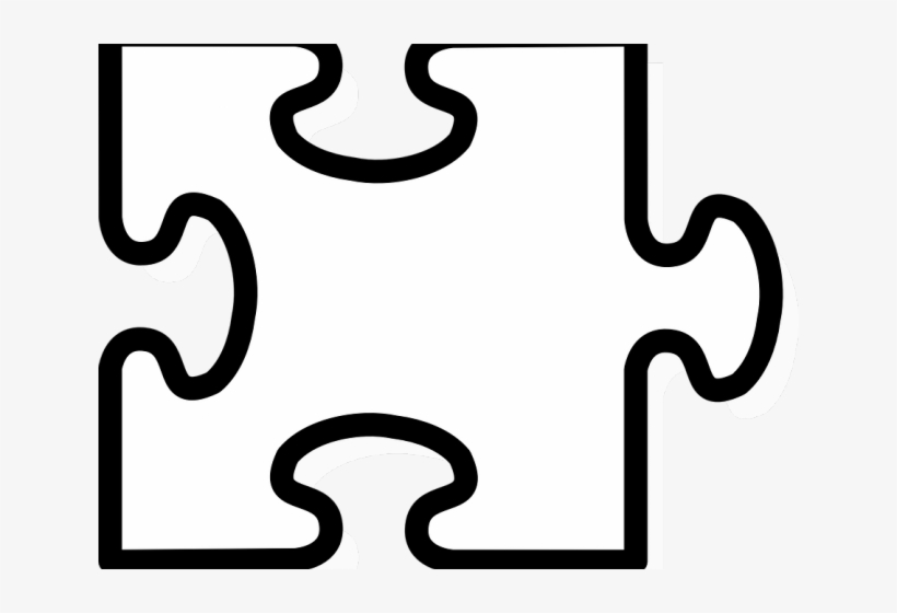 Clipart puzzle pieces template picture transparent library Jigsaw Puzzle Png Transparent Images - Puzzle Pieces Template - Free ... picture transparent library