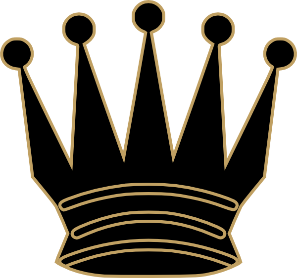 Man crown clipart clip black and white library Gray Queen Crown Clip Art at Clker.com - vector clip art online ... clip black and white library