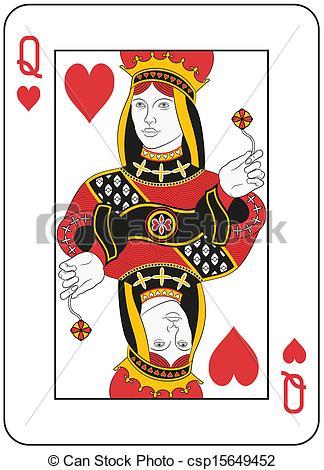 Clipart queen of hearts banner library Queen Of Hearts Clipart - Clipart Kid banner library
