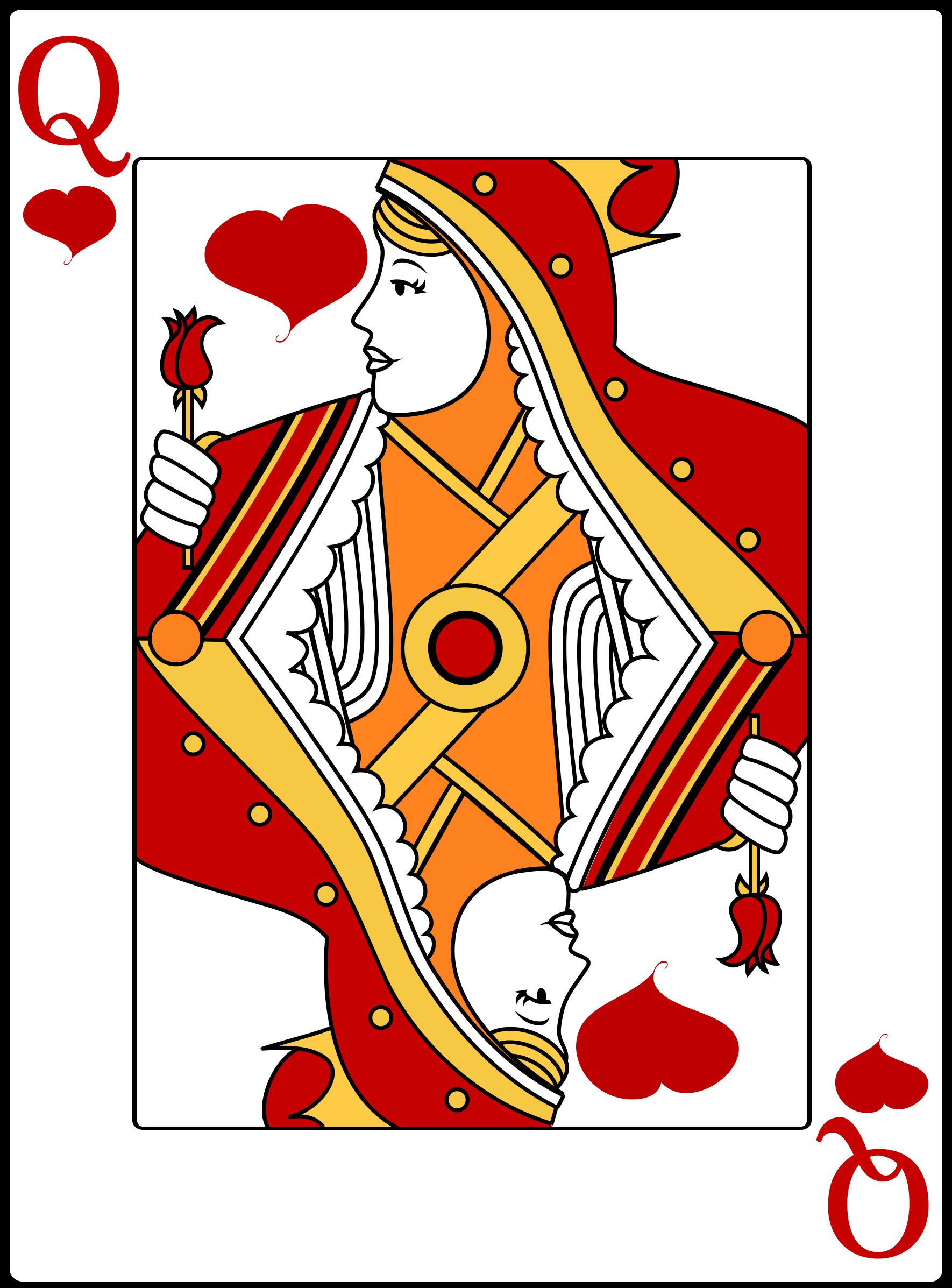Clipart queen of hearts clipart free Queen Of Hearts Clipart - Clipart Kid clipart free