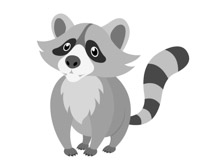 Free Raccoon Clipart - Clip Art Pictures - Graphics - Illustrations banner freeuse