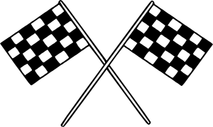 Clipart racing flag vector transparent download Motor Racing Flags Clip Art at Clker.com - vector clip art online ... vector transparent download