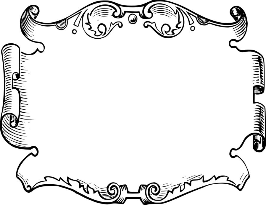Clipart rahmen transparent download Picture Cartoon clipart - Ornament, White, Black, transparent clip art transparent download