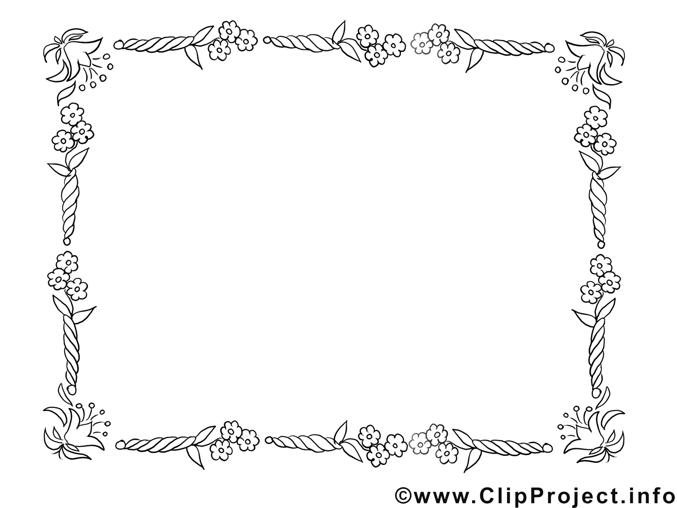 library of vector black and white download rahmen blumen