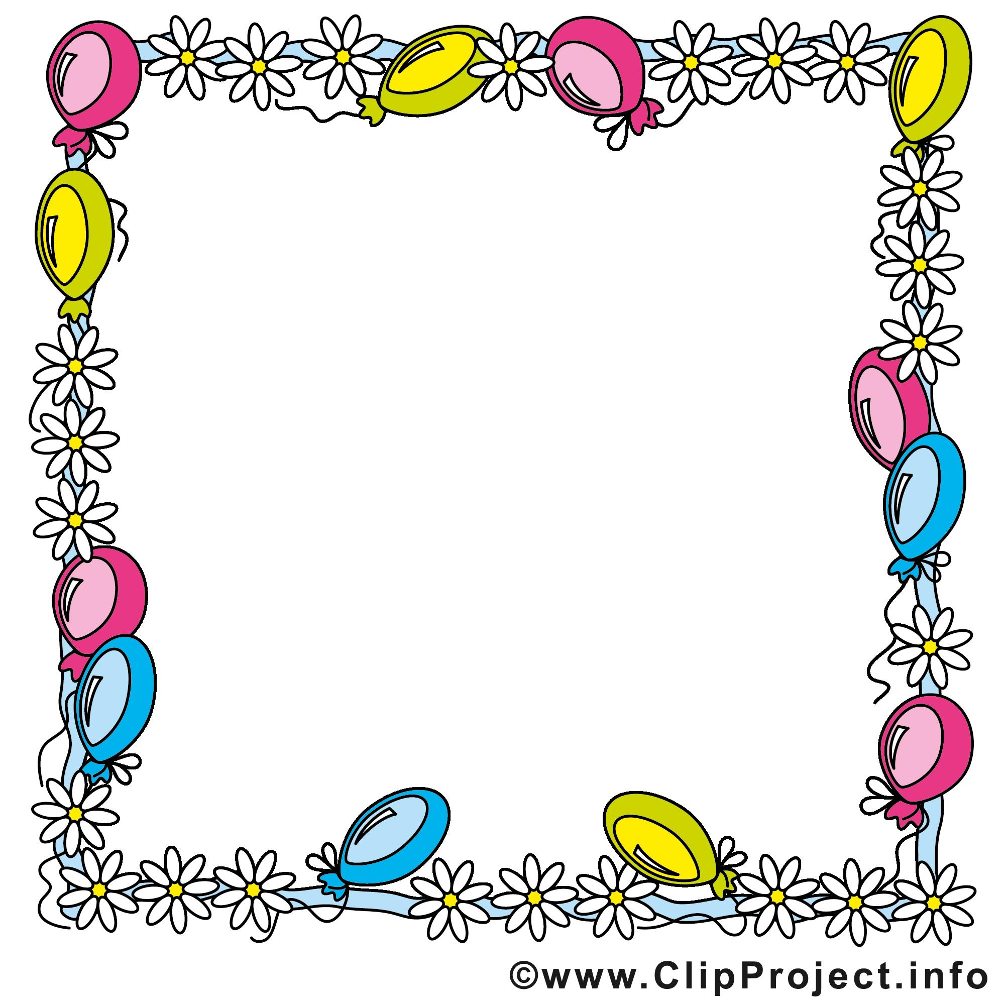 Cliparts geburtstag einladung clip free download Clipart rahmen geburtstag - ClipartFest clip free download