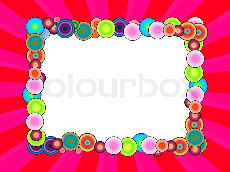 Clipart rahmen geburtstag clipart royalty free stock Malerisch, clipart, spaßig | Stockfoto | Colourbox clipart royalty free stock