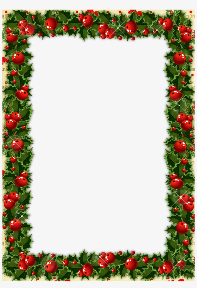 Clipart rahmen weihnachten jpg transparent library Christmas Frame Transparent Clipart Christmas Day Picture ... jpg transparent library