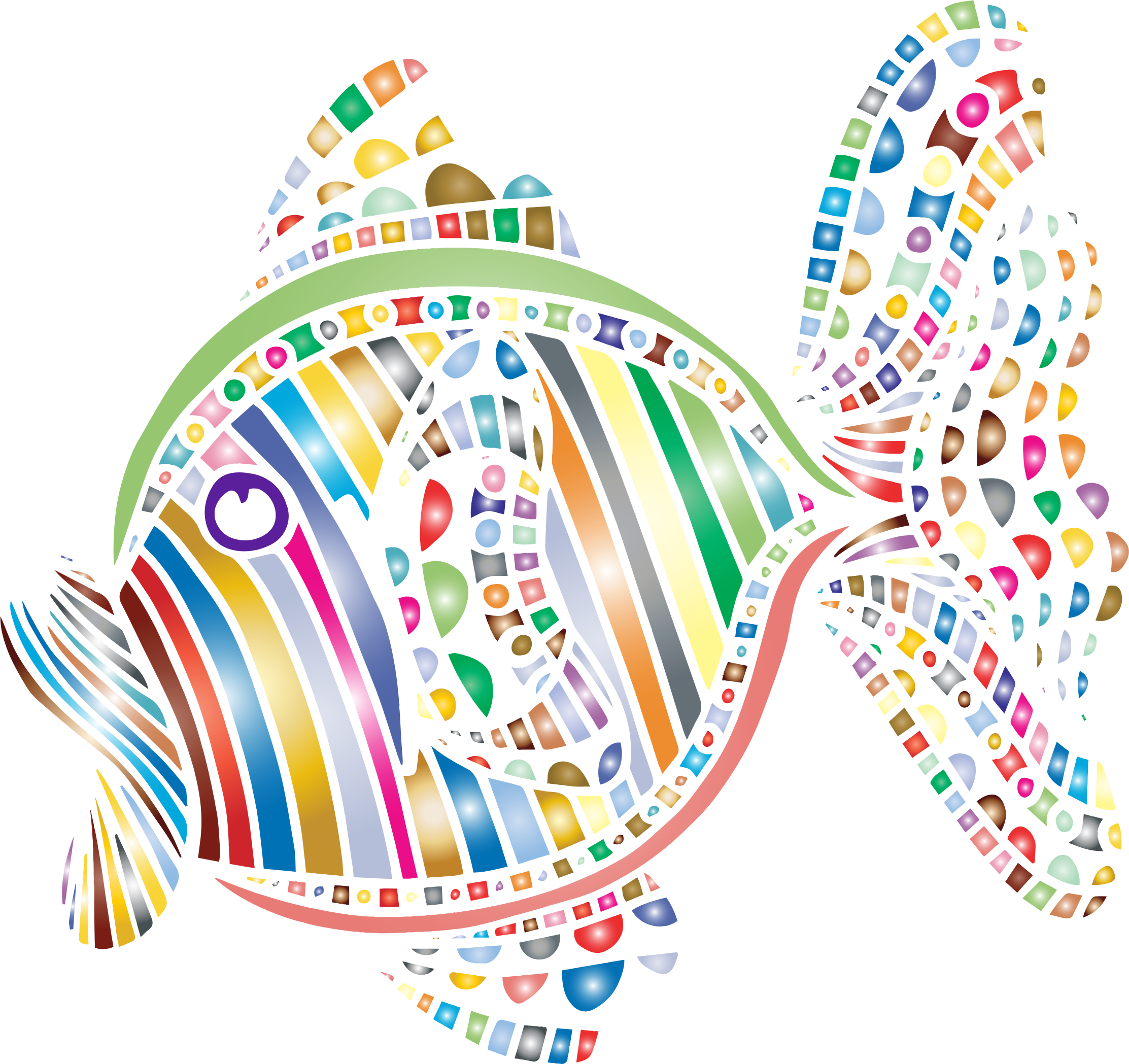 Fish heart clipart clipart royalty free Clipart - Abstract Colorful Fish 4 clipart royalty free