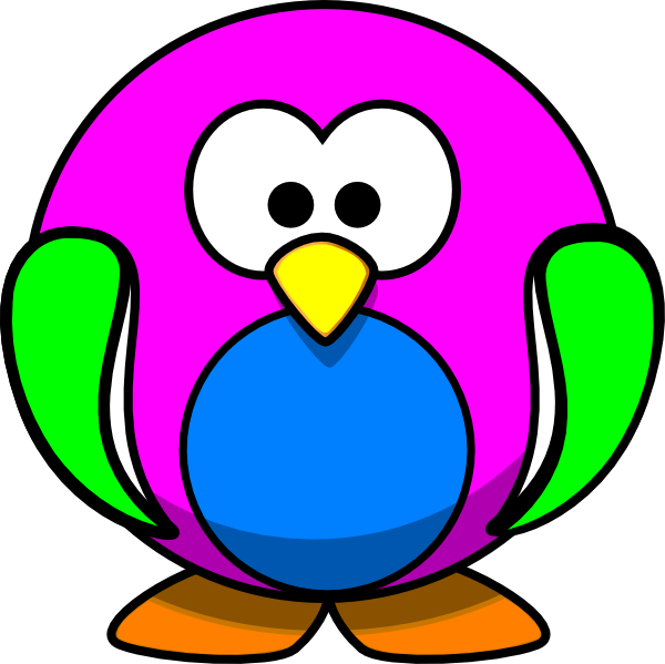 Rainbow Penguin Clip Art at Clker.com - vector clip art online ... graphic