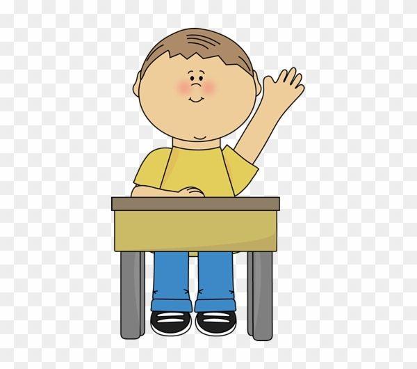 Boy Raising Hand – Student Raising Hand Clip Art – Free Transparent ... stock