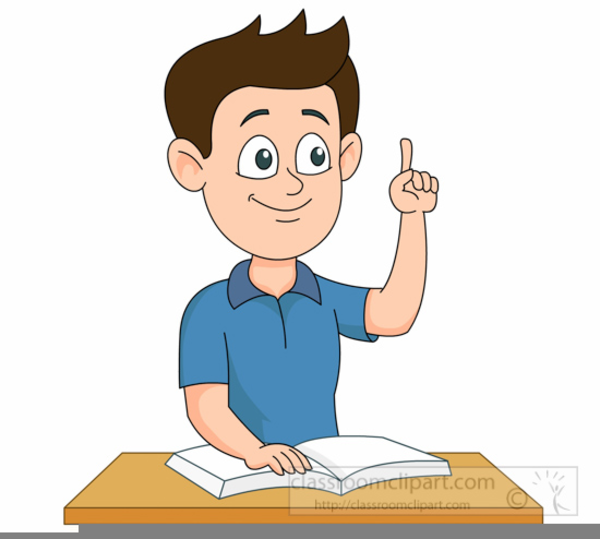 Png Student Raising Hand & Free Student Raising Hand.png Transparent ... clip art freeuse library