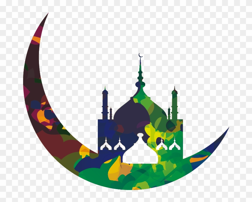 Clipart ramadhan clipart black and white stock Moon Png Clipart - Ornamen Ramadhan Vector Png, Transparent Png ... clipart black and white stock