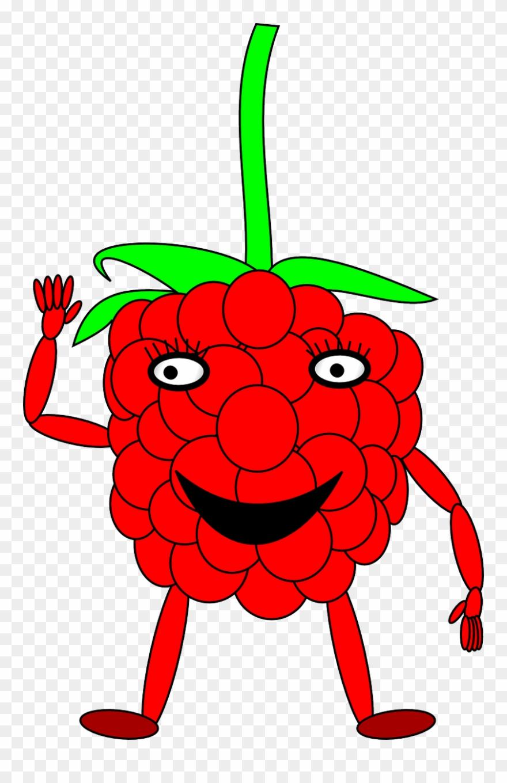 Clipart raspberry face png stock Raspberry Man Berry - Raspberry With A Face Clipart (#1341652 ... png stock