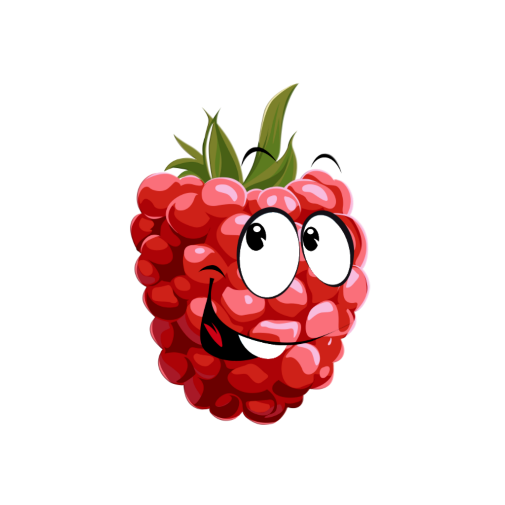Clipart raspberry face svg library mq raspberry berry face happy - Sticker by Marras svg library